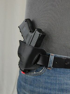Barsony Black Leather Slide Holster Cz-83 82 Compact