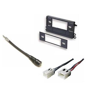 stereo radio install mount dash kit wire harness
