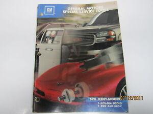 2002 general motors special service tools catalog used for General motors service specials