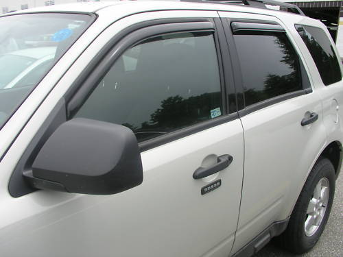 For Mazda Tribute 194001 In Channel Window Vents Visors