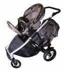 Steelcraft 4 Wheels Prams with Rain Cover