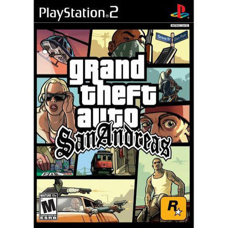 Grand Theft Auto: San Andreas - Pre-owned (Sony PlayStation 2, 2007) - Japanese