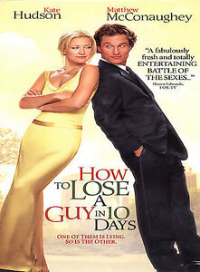 How to Lose a Guy in 10 Days DVD 2003 Widescreen - Hainesport, New Jersey, United States - How to Lose a Guy in 10 Days DVD 2003 Widescreen - Hainesport, New Jersey, United States
