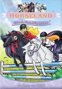 Details about HORSELAND Friends First   Win or Lose ~ DVD Includes 2  Episodes (BN)