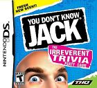 You Don't Know Jack  (Nintendo DS, 2011) (2011)