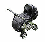Silver Cross Single Prams with Rain Cover