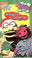 VHS Allegra's Window Allegra's Christmas (VHS, 1996) NEW SEALED
