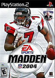 PlayStation-2-Game-MADDEN-2004-w-Book-Rated-E