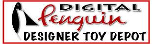 Digital Penguin Designer Toy Depot