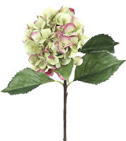 Faux Hydrangea Flowering Plants - Luscious Floral Decor