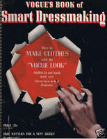 Vogue's Book of Smart Dressmaking 1942 - Vintage 40s