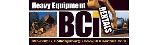 BCI Equipment Sales and Rentals