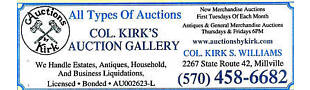 Kirk's Auction Gallery