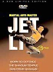 Jet-Li-Born-To-Defence-The-Shaolin-Temple-Kids-From-Shaolin-DVD-2002-3-Disc-Set-DVD-2002