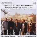 Flötenquintette KV 515/KV 593 von A. Magnin,Janacek Quartett (2001)