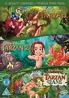 Tarzan / Tarzan 2 / Tarzan And Jane (DVD, 2009, 3-Disc Set, Box Set)