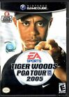 Tiger Woods PGA Tour 2005 (Nintendo GameCube, 2004) - European Version