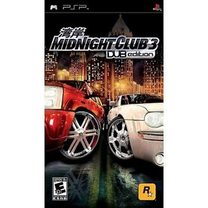 Midnight Club 3 -- DUB Edition NEW Factory Sealed (Sony PSP, 2005)