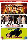 Tropic Thunder/Zoolander/The Heartbreak Kid (DVD, 2009, 3-Disc Set, Box Set)