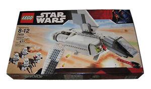 Lego Star Wars Conjunto de Artesanía de aterrizaje Imperial 7659 NUEVO PRECINTADO Sandtrooper Minifiguras