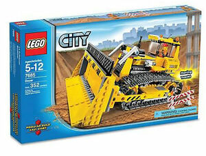 Lego Construction Town City Construction Lego 7685 DOZER New Sealed 2fc0c1
