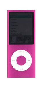 iPod-nano-4th-Generation-Pink-8GB-accessories-free-warranty