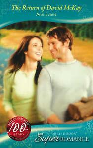 Ann-Evans-The-Return-of-David-McKay-Super-Romance
