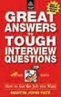 Great Answers to Tough Interview Questions by Martin John Yate (Paperback, 1998)