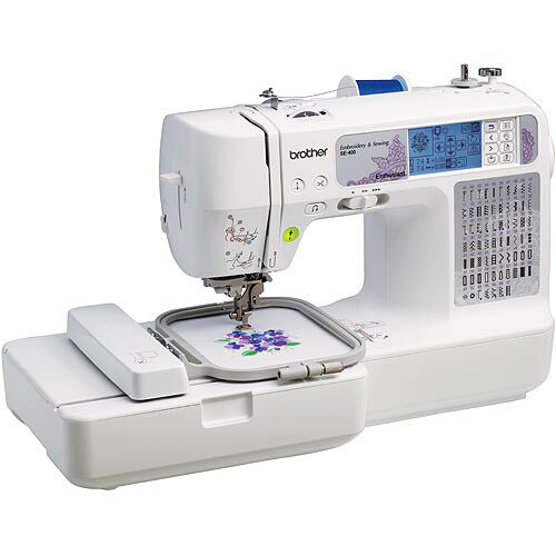 Brother SE40 Computerized Sewing Machine EBay Extraordinary Brother Se400 Combination Computerized Sewing And 4x4 Embroidery Machine