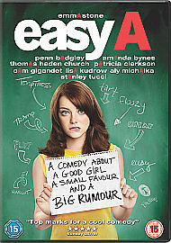 Easy A DVD 2011 Good Condition DVD Emma Stone Cam Gigandet Stanley Tucci - <span itemprop='availableAtOrFrom'>Exeter, United Kingdom</span> - Easy A DVD 2011 Good Condition DVD Emma Stone Cam Gigandet Stanley Tucci - Exeter, United Kingdom