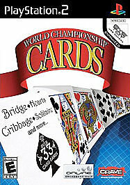 WORLD CHAMPIONSHIP CARDS PS2 GAME NEW