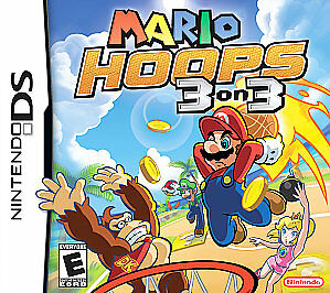 NEW Mario Hoops 3-on-3 (Nintendo DS, 2006) OPENED