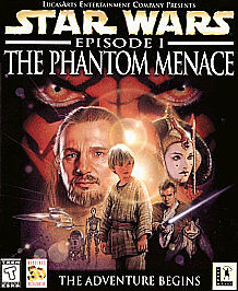 Star-Wars-Episode-I-The-Phantom-Menace-NEW-CD-Rom-Game-for-PC