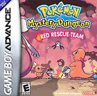 Pokemon Mystery Dungeon: Red Rescue Team (Nintendo Game Boy Advance, 2006)