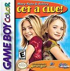 Mary-Kate & Ashley: Get a Clue (Nintendo Game Boy Color, 2000)