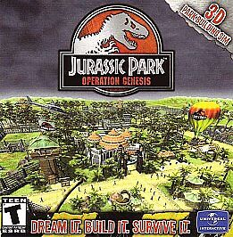 """Jurassic Park: Operation Genesis  PC Game """"Scratchy but Reads 100%"""" Disc sale"""