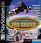 Tony Hawk's Pro Skater (Sony PlayStation 1, 1999)