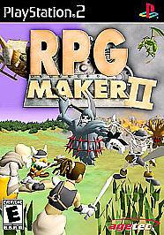 rpg maker ii sony playstation 2 2003 ebay