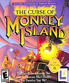 Curse of Monkey Island (PC 1997) LucasArts  Entertainment, Rated E - funny & fun