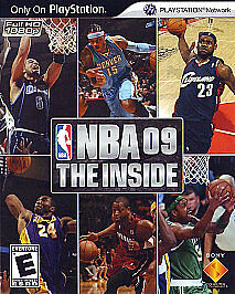 NBA 09 - The Inside Playstation3 Complete Basketball Game