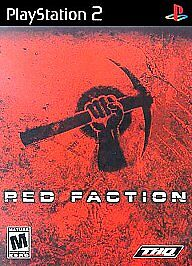 Red-Faction-PS2-Playstation-2-Shooter-Disc-Only-No-Case-No-Manual