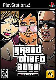 GRAND THEFT AUTO: THE TRILOGY (PS2, 2006) (1110) (ALL 3 CASES) FREE SHIPPING USA