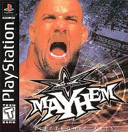 WCW Mayhem (Sony PlayStation 1, 1999)