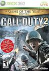 Call of Duty 2 -- Game of the Year Edition (Microsoft Xbox 360, 2006)