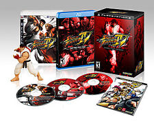Street fighter iv-xbox 360, 4 collector's edition, soiled new.