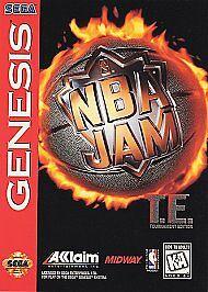 Nba Jam T E Sega Genesis 1995 21481800125 Ebay