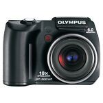 Olympus SP-500 UZ 6.0 MP Digital Camera - Black