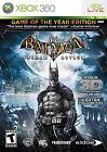 Batman: Arkham Asylum Microsoft Xbox 360 Video Games
