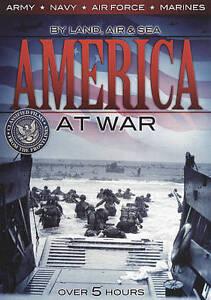 America At War DVD, 2010  - $1.50
