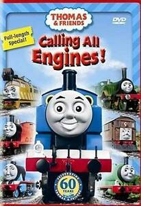 thomas friends calling all engines dvd 2009 back to school